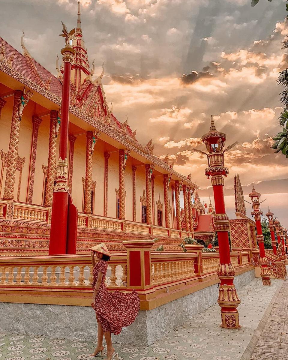 Điểm danh 5 ngôi chùa Khmer nổi tiếng ở miền Tây