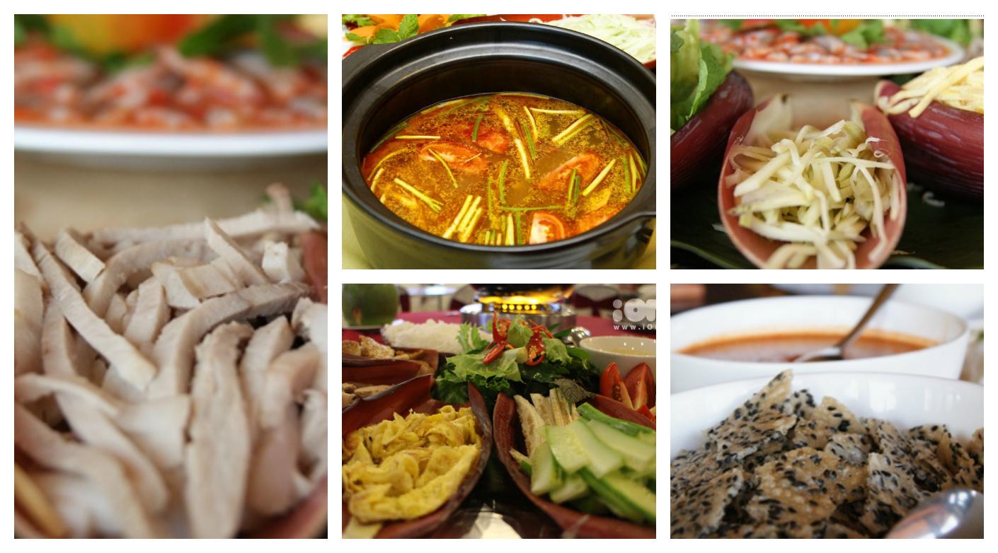 Các thành phần món ăn (ảnh minh họa)