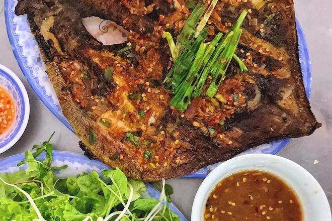 Cá đuối nướng – món ngon ở Đà Nẵng thu hút khách du lịch