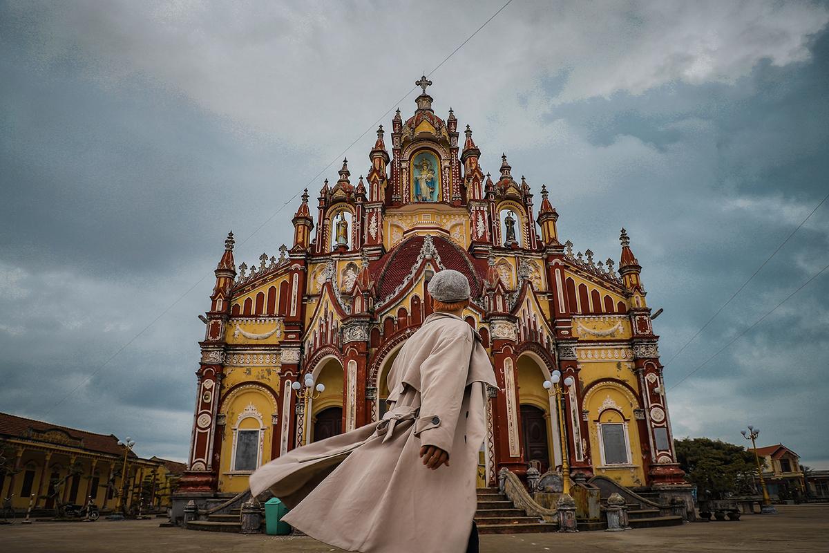 Lạc bước trời Âu giữa các nhà thờ Nam Định
