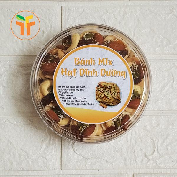 Bánh đồng tiền mix hạt